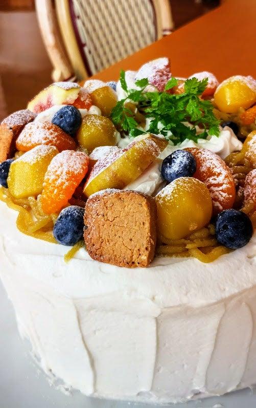 米粉のバーステーシフォンケーキ