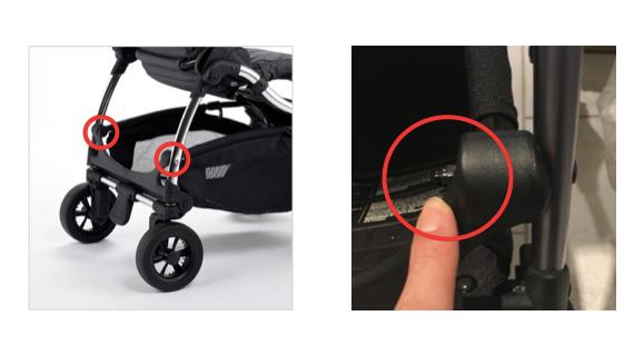 アイキャンディ ラズベリー:荷物入れの留め具ネジが緩んだ時の対応方法