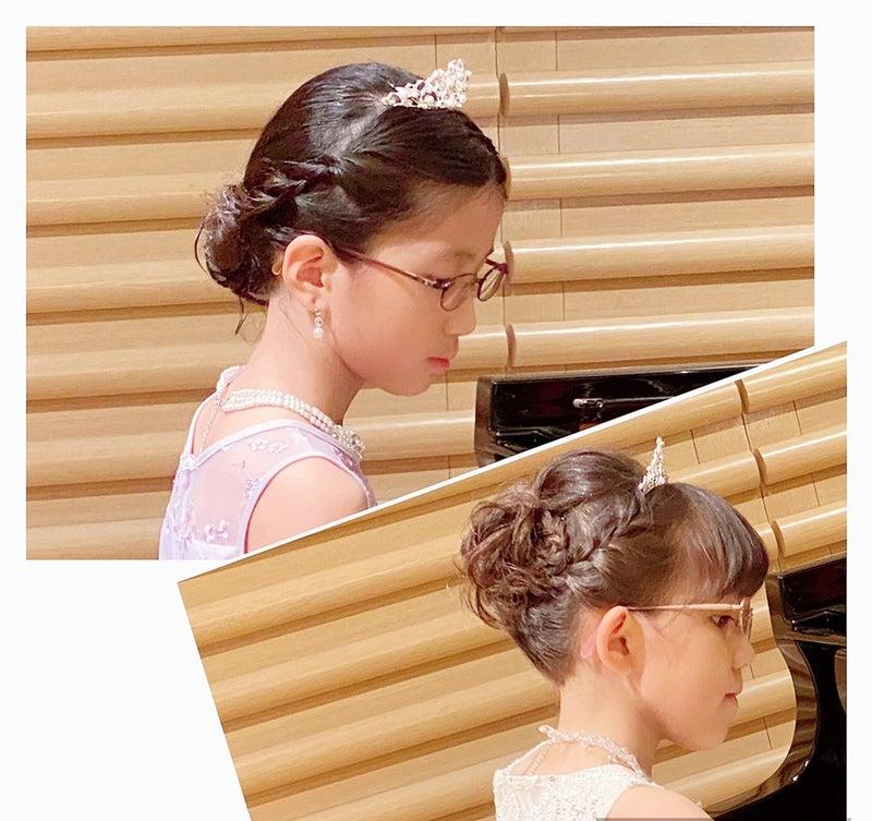 発表 会 髪型 ピアノ