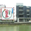新しい那珂川からのクリニックの眺めですの画像