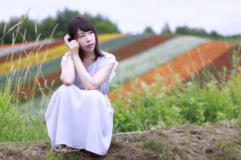 ✩-富良野四季彩の丘。個撮。あつしさん①-✩ | Nachi@札幌Model