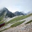 えむの山日記【唐松岳登頂記①】唐松岳頂上山荘テント場へ…