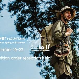 Flower Mountain 2021 春夏コレクションの展示受注会を開催します!の画像