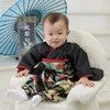 フルオーダーの着物風カバーオールの画像