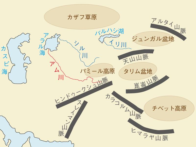 アム川 地図