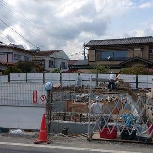 【新築】大田区案件:いま、建ててます ④地中が着々との画像