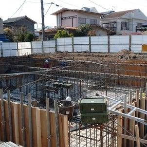 【新築】大田区案件:いま、建ててます ③地中はこんなかんじの画像