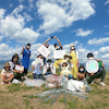 地球がおうち〜琵琶湖ゴミ拾い〜の画像