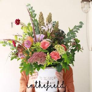 生花のギフトは秋のカラーがイチオシ!の画像