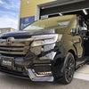 ホンダ ステップワゴン 新車ガラスコーティング 【プレミアムスパークルブラック・パール】の画像