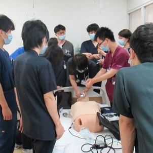 心肺停止時の対応について学びました!の画像