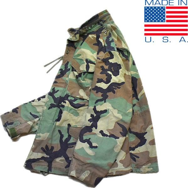 米軍BDU迷彩柄ミリタリージャケット古着屋カチカチ