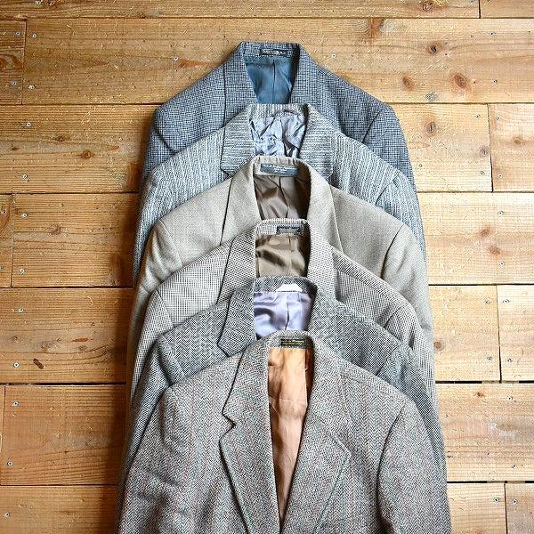 ウールテーラードジャケットブレザー古着屋カチカチ