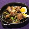 おうちで、セロリと鶏手羽元の旨辛煮の画像