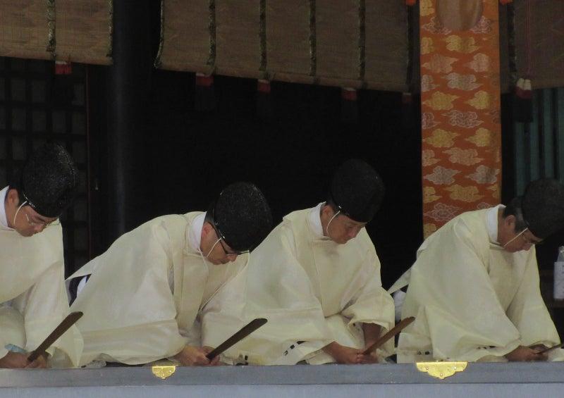 香取神宮『秋季皇霊祭遥拝式』