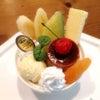 埼玉県食品サンプル教室「プリン・アラモード小物入れ」の画像