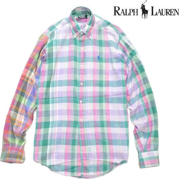 ラルフローレン長袖シャツセーター古着屋カチカチ