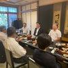 藤枝市保守系市議の皆様や後援会役員会の一日の画像