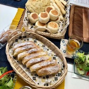 おうちパン教室へ♡の画像