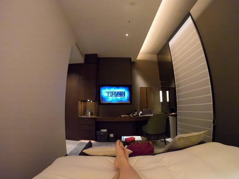 《ホテル ザ セレスティン銀座》スーペリアクイーン宿泊記 お部屋で半沢直樹最終回
