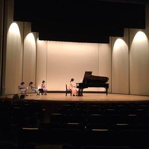 ステージ練習&森のピアノへ~の画像