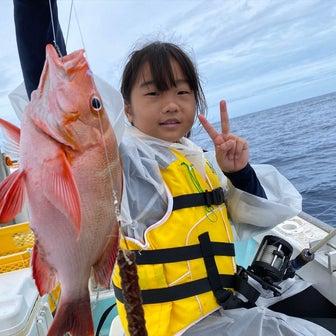 家族みんなで釣り体験ですよ〜♫