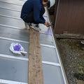 八王子市 カーポートの補修工事 カーポートの清掃