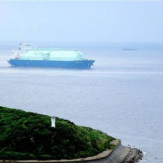 LNGガス船 OCEANIC BREEZE