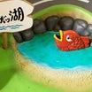 ロボッ湖の魚