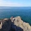 徳山沖、大津島白岩クロ釣り