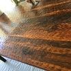 【10年使った無垢のテーブルの修復メオト作業】でラリラリラ〜〜