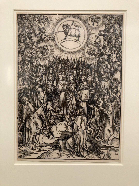 スティーブ・ジョブズの愛した新版画 からの「西洋の木版画 500年の物語」町田市立国際版画美術館