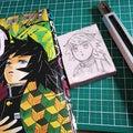 【鬼滅の刃】ほわほわの冨岡さんと桜を彫る