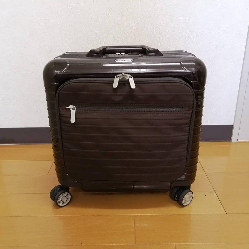 中古リモワ販売なら博多の質屋-そとおサルサデラックスハイブリッド(ボレロ)機内持込ビジネススーツケース