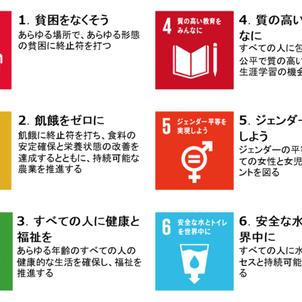 SDGsについて考えようin English!の画像