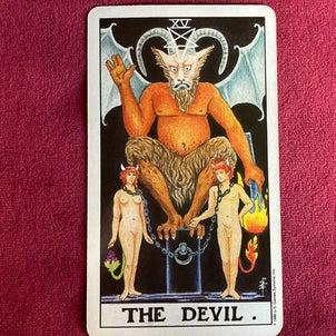 映画『ミッドナイト・スワン』とタロット悪魔のカードの画像