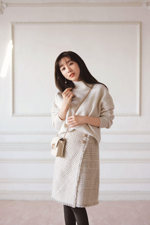 Apuweiser-riche Official Blog田中みな実さん着用!美人百花11月号掲載アイテム♡