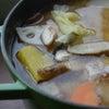 ストウブで「豚汁」アボカドまぐろのキムチ和え丼の画像