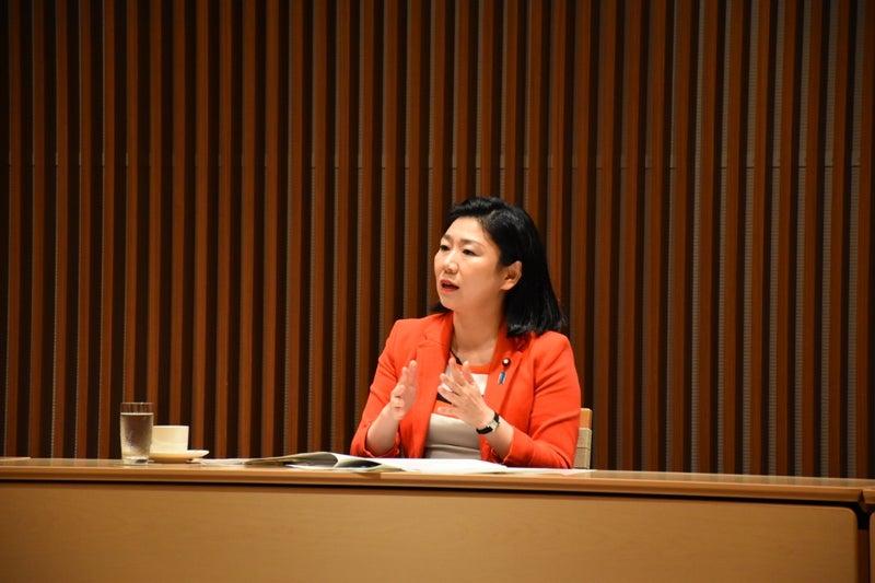 三師会座談会(1) | 牧島かれんオフィシャルブログ「かれんの前向き ...