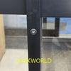 会社事務所 風除室の鍵交換 ALPHA  LP4056-ALU 富山の鍵屋の画像