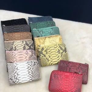 パイソンお財布 その2✨の画像