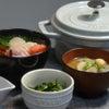 定番の海鮮丼の晩ごはんの画像