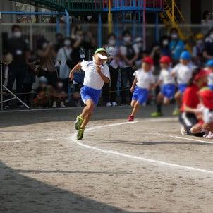 幼稚園の運動会の画像