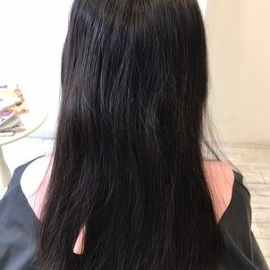 髪質改善縮毛矯正 お手入れ簡単です!の画像