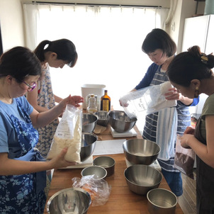 米粉のお菓子の作り方を学ぼう!【米粉お菓子コース】の画像