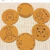 アレコレ使いたい可愛いイラスト付きコルクコースター☆ 【雑貨カフェ/佐賀県唐津市】の画像