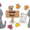 2020/10/16(金)絵日記 犬たちと秋の画像