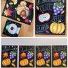 秋のチョークアート教室の画像