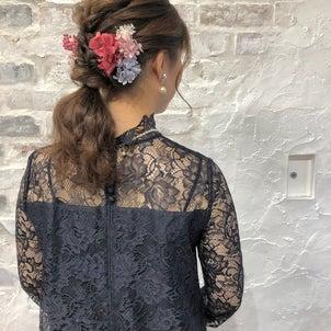 結婚式のヘアアレンジ(基本の4スタイル)の画像
