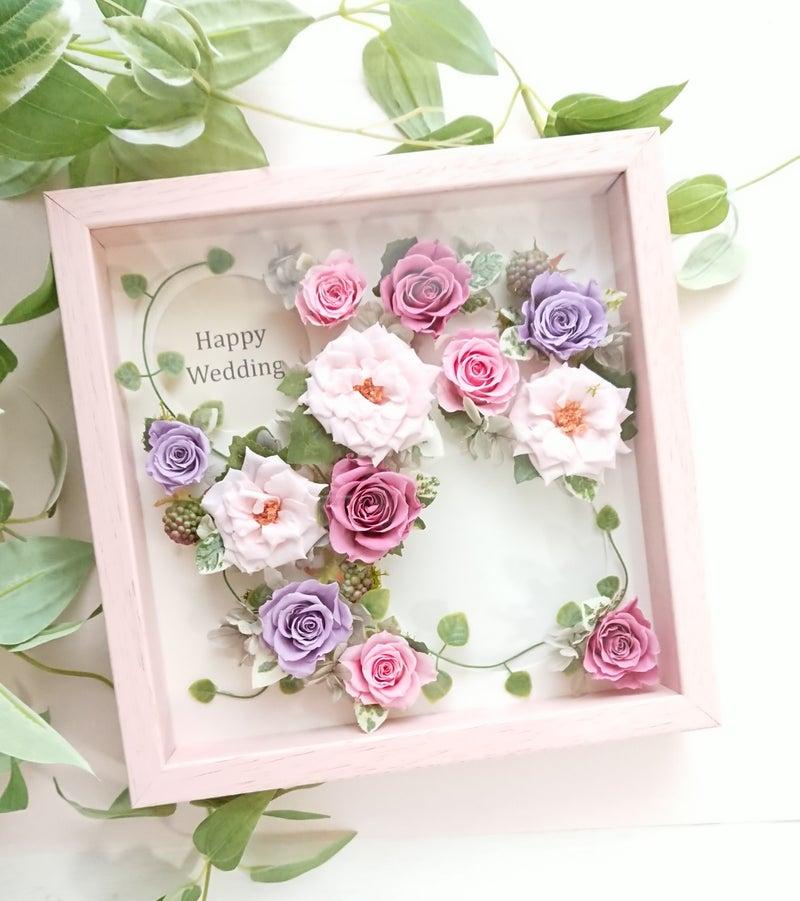 お写真やメッセージを添えて☆記念居残るお花の贈り物。